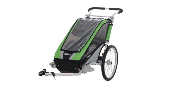 Thule Przyczepka dla dzieci 1-osobowa Przyczepka rowerowa zielony